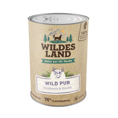 Wildes Land - Wild PUR - 400g