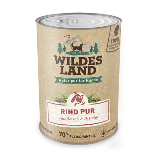 Wildes Land - Rind PUR